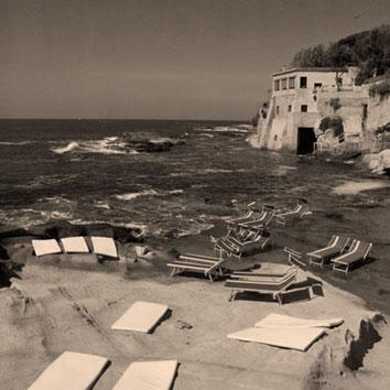 rocce verdi stabilimento balneare Napoli Posillipo