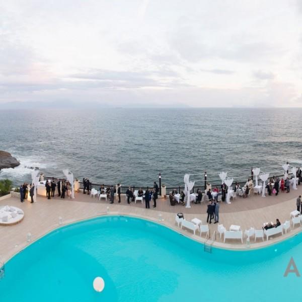 Villa per Matrimonio Napoli Eventi piscina