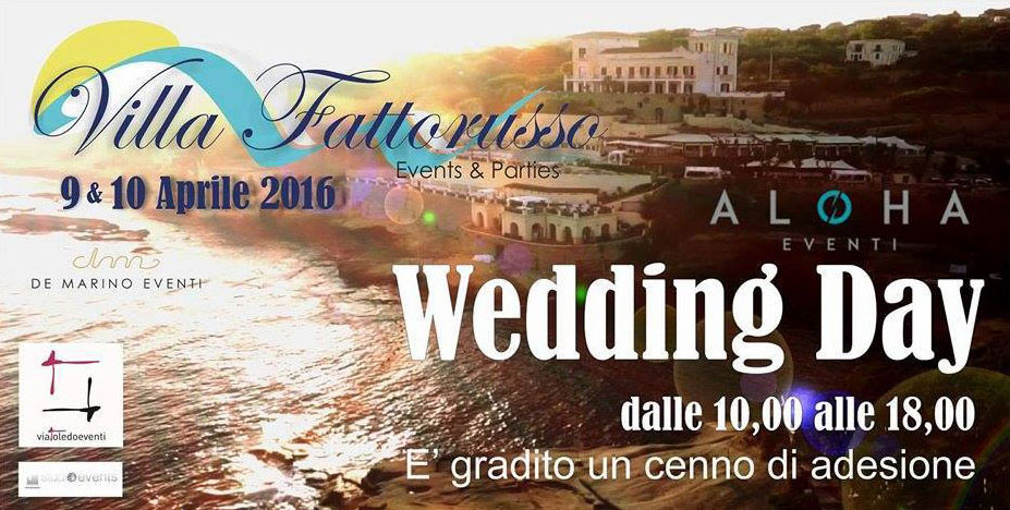 Wedding day Villa per Matrimonio Napoli
